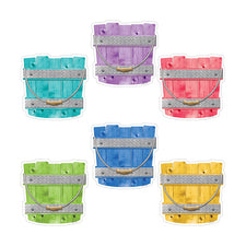 "Upcycle Style Buckets 6"" Designer Cut-Outs"