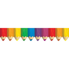 Colored Pencils Bulletin Board Border