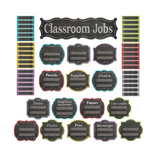 Chalk It Up! Classroom Jobs Mini Bulletin Board Set