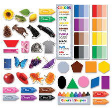 Colors & Shapes Mini Bulletin Board Set