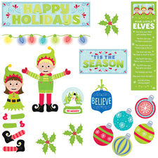 Tis The Season Mini Bulletin Board Set