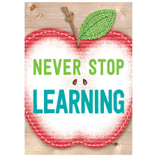 Never Stop Learning. Inspire U Poster