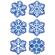 "Snowflakes 3"" Designer Cut-Outs"