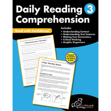 Daily Reading Comprehension Workbook, Grade 3