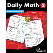 Daily Math Workbook, Grade 2
