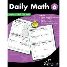 Daily Math Workbook, Grade 6