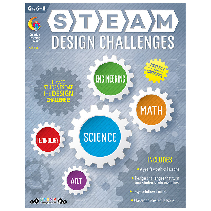 STEAM Design Challenges Resource Book, Grades 6-8