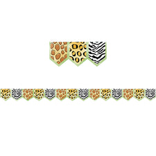 Safari Friends Safari Prints Bulletin Board Border