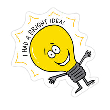 So Much Pun! Bright Idea Badge