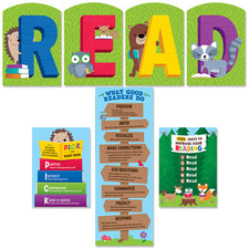 Woodland Friends READ Bulletin Board Set