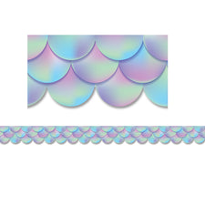 Iridescent Scallops Bulletin Board Border