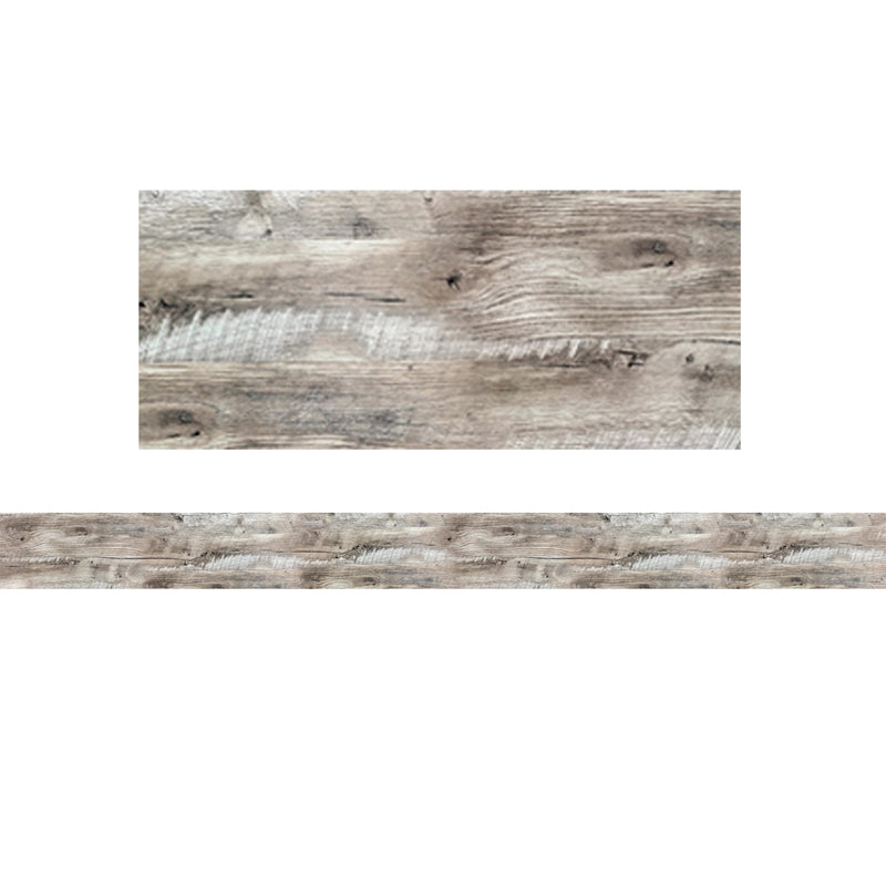 Rustic Wood Bulletin Board Border