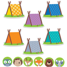 "Woodland Friends 6"" & 3"" Cut-Outs Combo Pack"