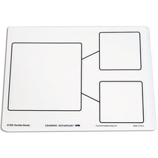 Number Bond Dry Erase Boards, Set of 10