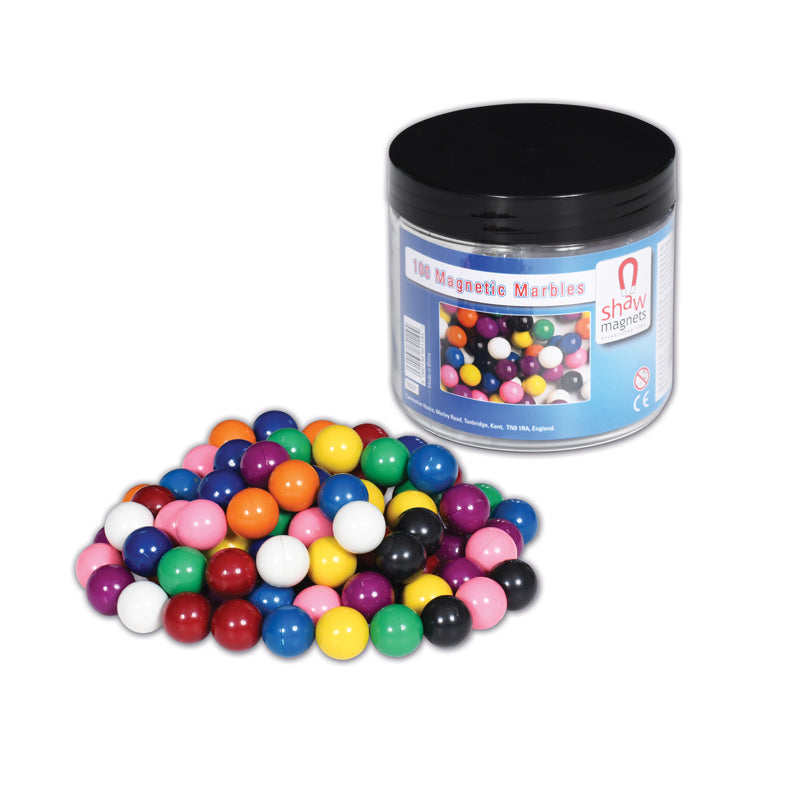 Magnetic Marbles, Set of 100