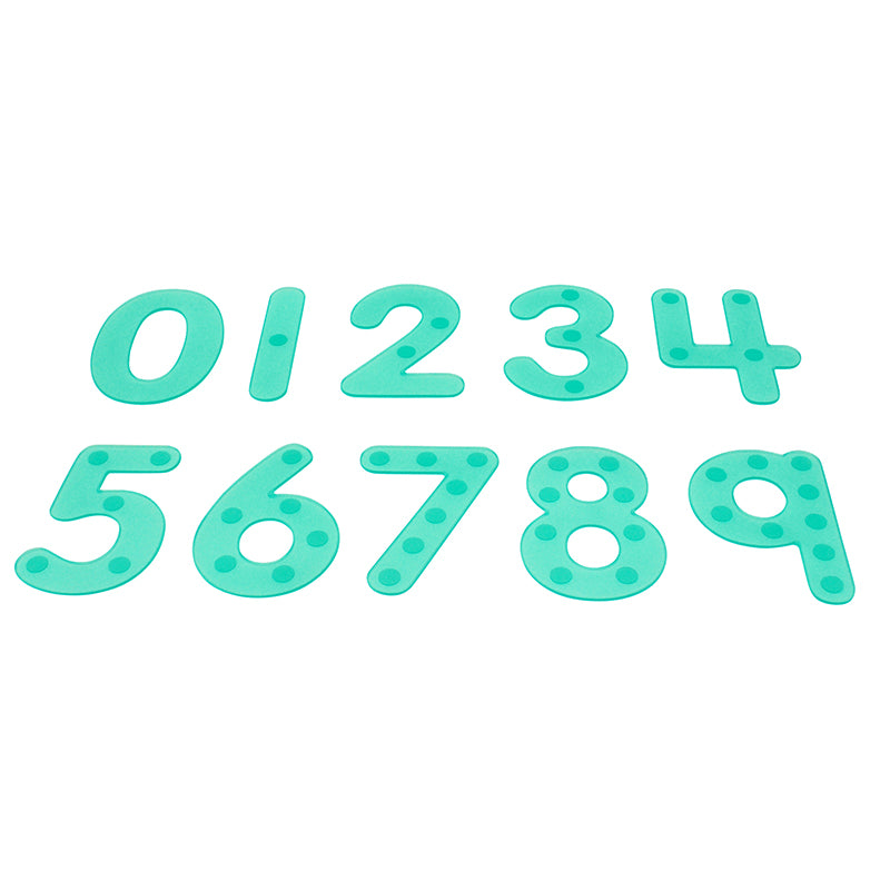 SiliShapes® Dot Numbers, 0-9