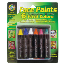 Crafty Dab Jumbo Crayon Face Paints Neon