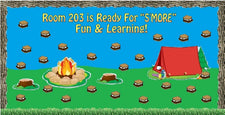 "Time For ""S'more"" Learning! - Camping Themed Back-to-School Display"