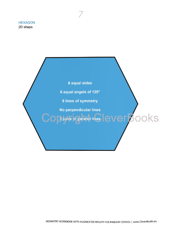 CleverBooks Augmented Reality: Geometry Workbook for Primary School