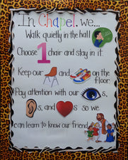 Interactive Rule Board - Preschool Classroom Management Idea