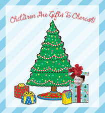 Children Are Gifts To Cherish! - Christmas Bulletin Board