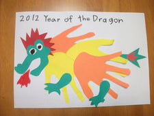 Chinese New Year Dragon Craft for Kids