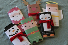 Christmas Favors - Winter Character Candy Bar Wrappers