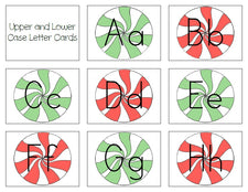 Peppermint Letters Printable Activity
