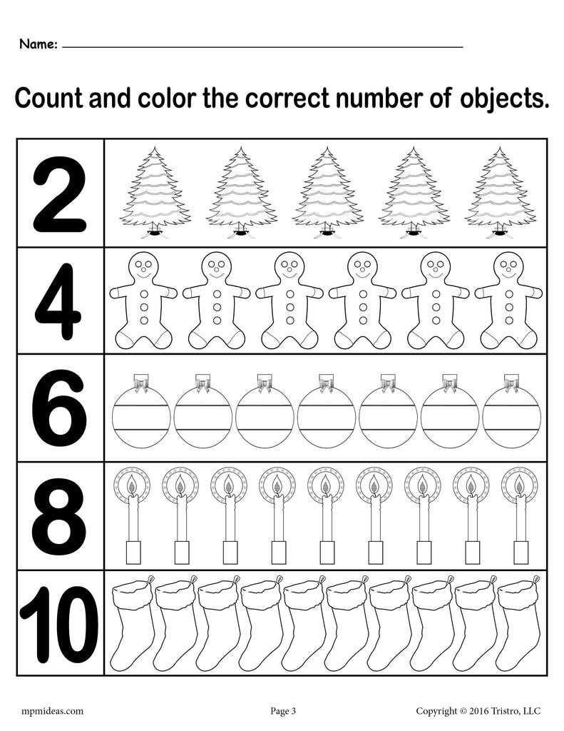 learn to count bundle 120 printable counting worksheets supplyme. Black Bedroom Furniture Sets. Home Design Ideas