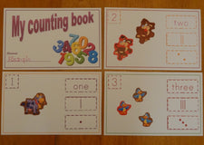 "Extended ""My Counting Book"" Activity!"