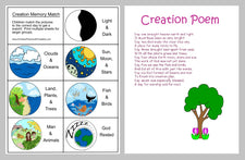 Creation Story Interactive Emergent Reader