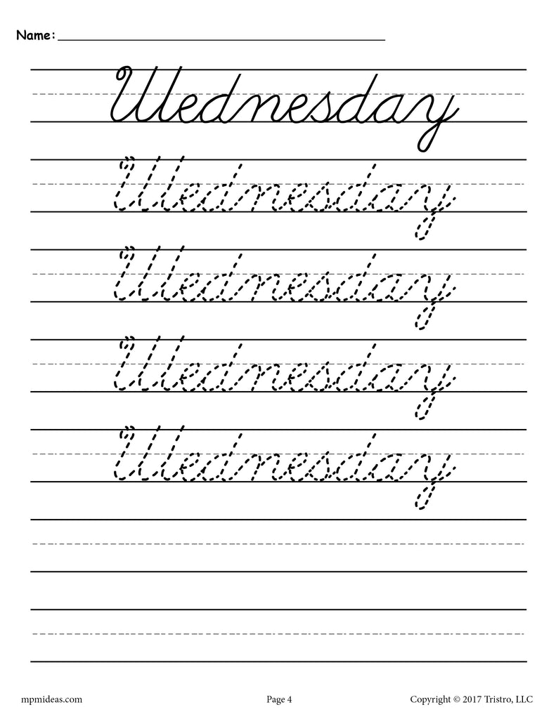 6th Grade Handwriting Worksheets Topsimages