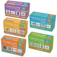 Common Core Collaborative Card Set, Grades 3-5