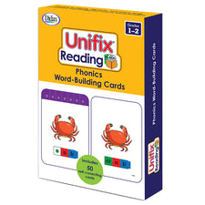 Unifix® Reading: Phonics Word-Building Cards