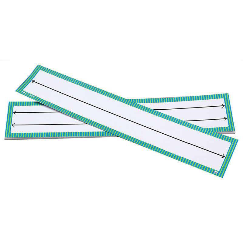 Blank Student Number Lines, Set of 10