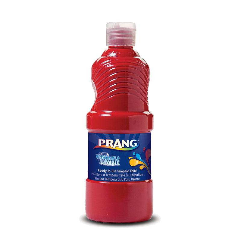 Prang Washable Paint 16 Oz Red