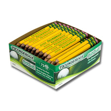 Ticonderoga Golf Pencils, 72 Count Box