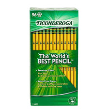 Original Ticonderoga Pencils 96 Per Box, Unsharpened