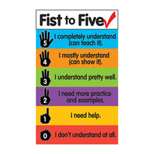 Fist to Five Check Magnets