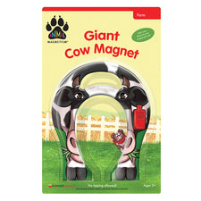 Animal Magnetism: Giant Cow Magnet