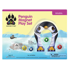 Animal Magnetism: Penguin Magnet Play Set