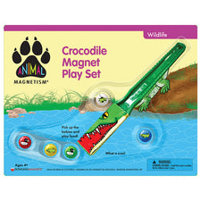Animal Magnetism: Crocodile Magnet Play Set
