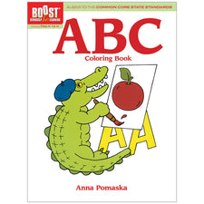 BOOST ABC Coloring Book