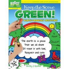 BOOST Keep the Scene Green! Earth-Friendly Activities