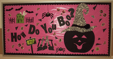 How Do You Boo? - Vibrant Halloween Bulletin Board