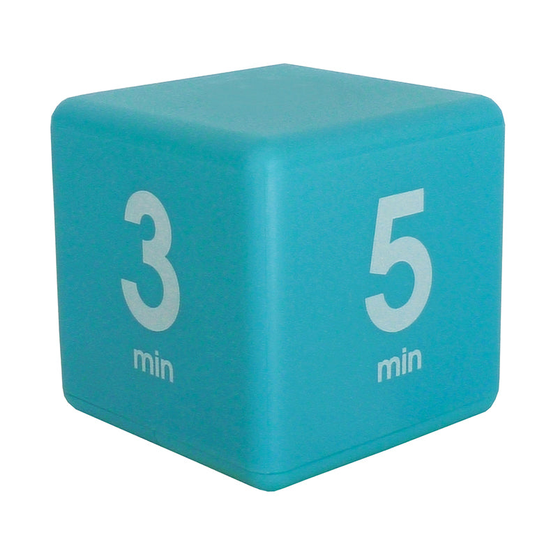 Datexx Blue Time Cube: 1, 3, 5, and 7 Minute Preset Times