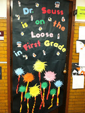 Dr. Seuss is on the Loose! - Seuss-Inspired Door Display