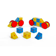 3-D Magnetic Blocks, 20 Piece Set