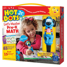 Hot Dots® Jr. Let's Master Pre-K Math