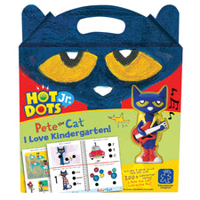 Hot Dots® Jr. Pete the Cat® I Love Kindergarten! Set + Pen